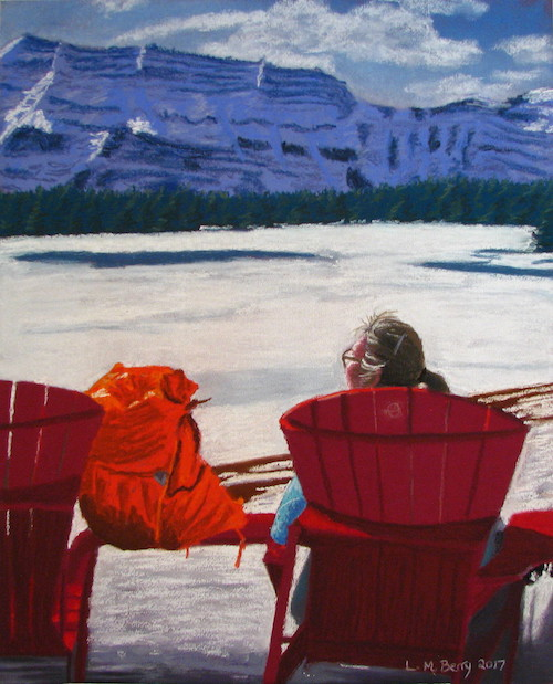 OL Red Chair Two Jack Lake