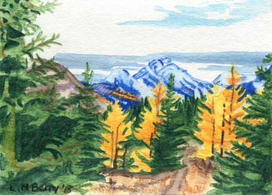 Rummel Lake larches
