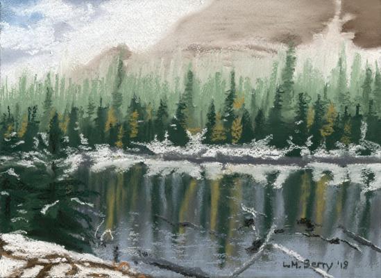 Taylor Lake larches