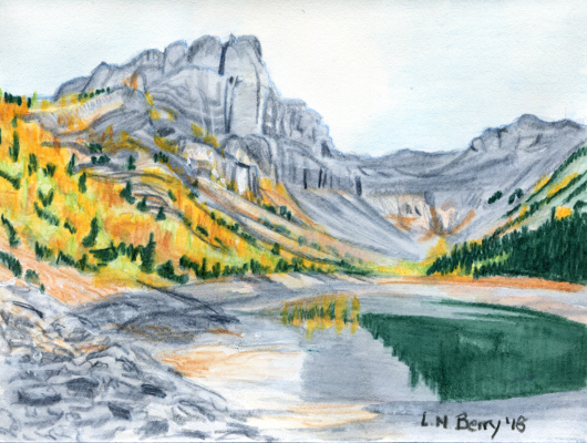 Tryst Lake Larches
