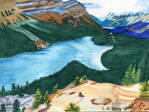 Peyto Lake Trip 1